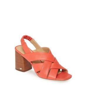 Michael Kors Dixon Block Heel Sandal